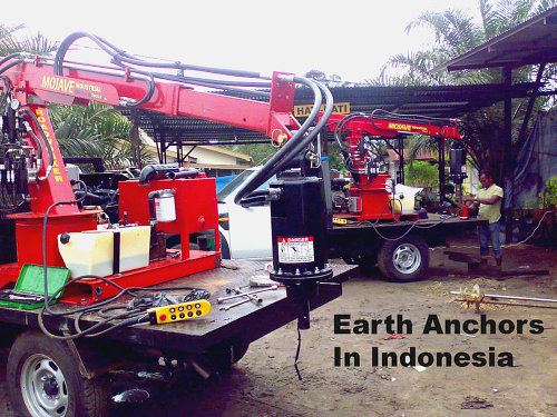 Earth Anchor Auger
